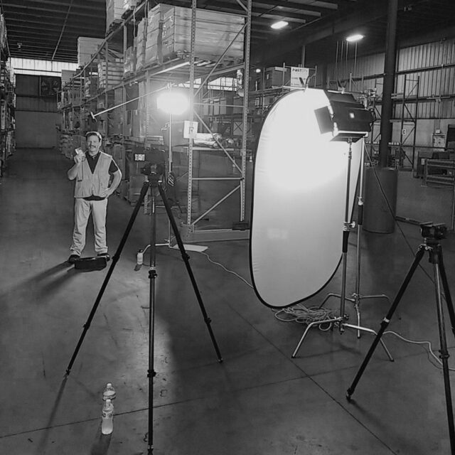 Lights ✔️ Cameras ✔️ Awesome talent ✔️ Incredible client... ✔️  #BehindTheScenes #safety #SafetyFirst #logistics #talent #contentcreation #creativeagency